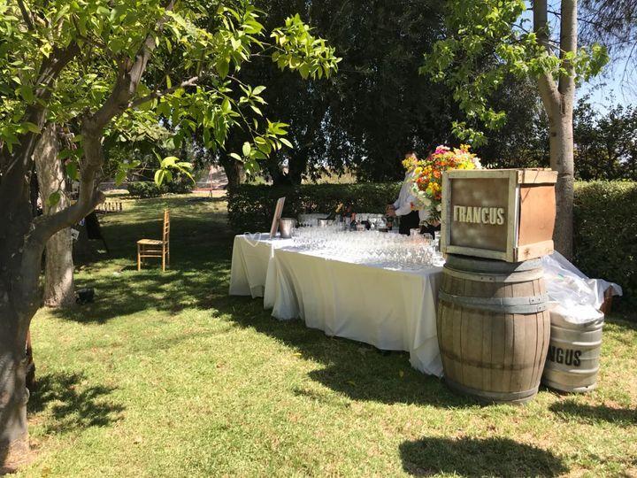 Barra de vinos y gasosas