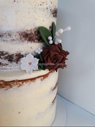 Detalles torta bodas