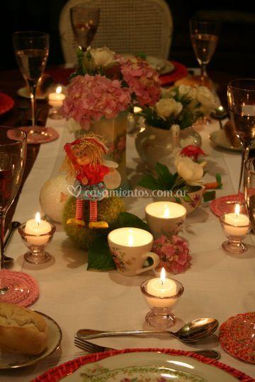 Decoraci n de mesas con tazas foro banquetes - Foro decoracion ...