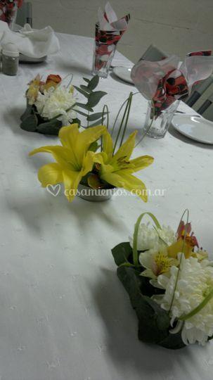 Centro de mesa formal