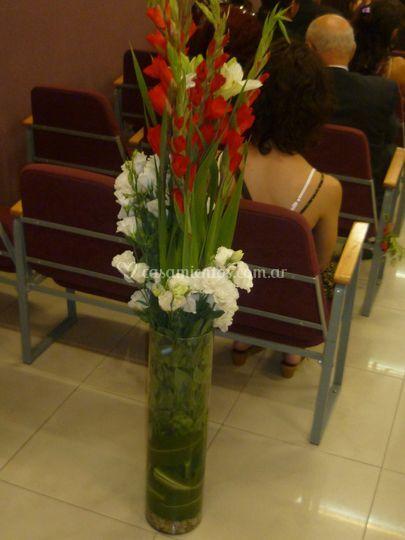 Columna floral