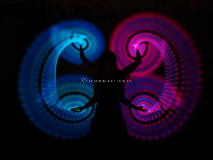 Malabares lumínicos