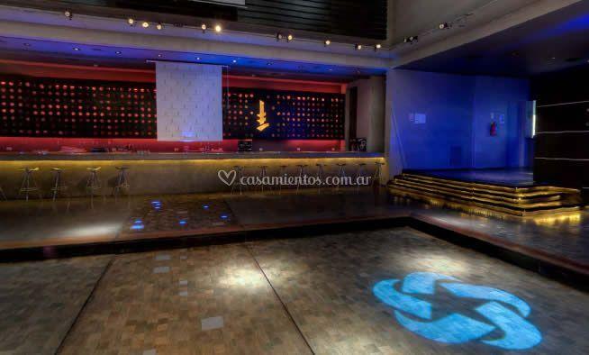 Espacio destinado para bailes y fiestas