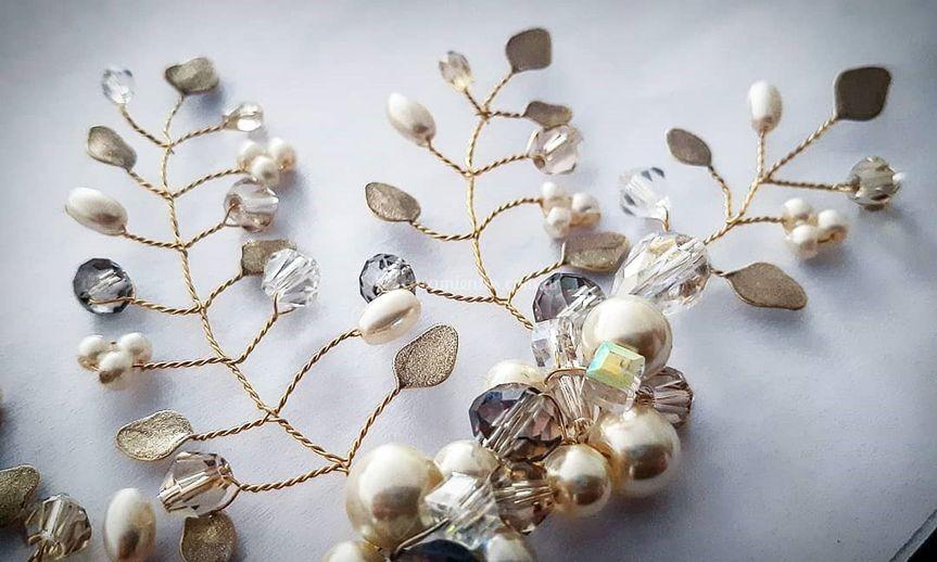 Cristales, perlas y esmaltado