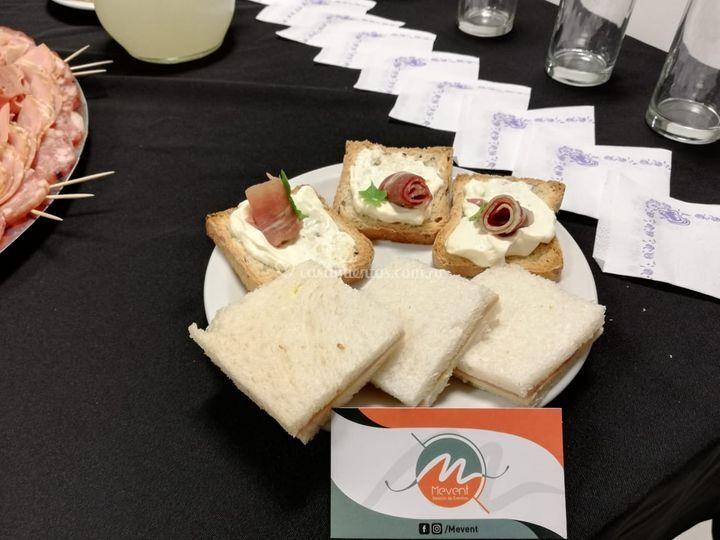 Sandwich y Tapas