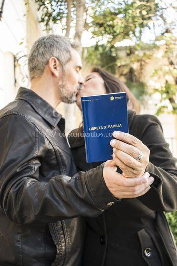 ¡Al fin casados!