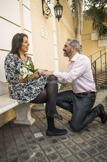 Ya marido y mujer