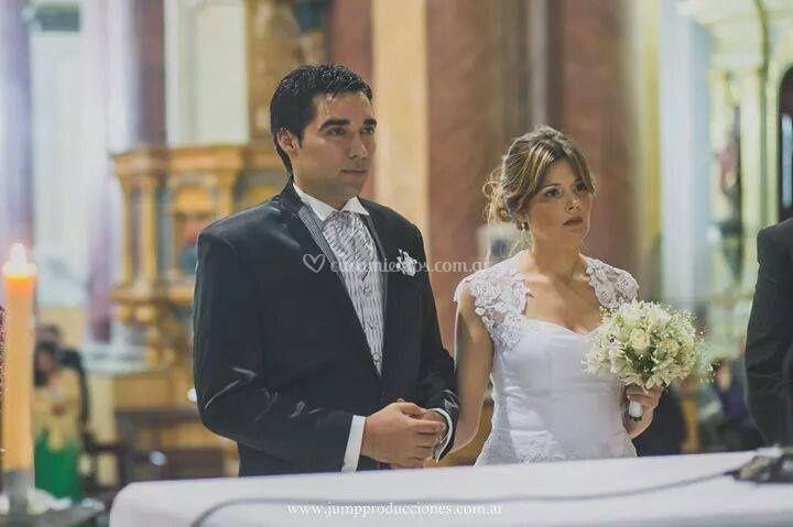 Inés vestido de novia