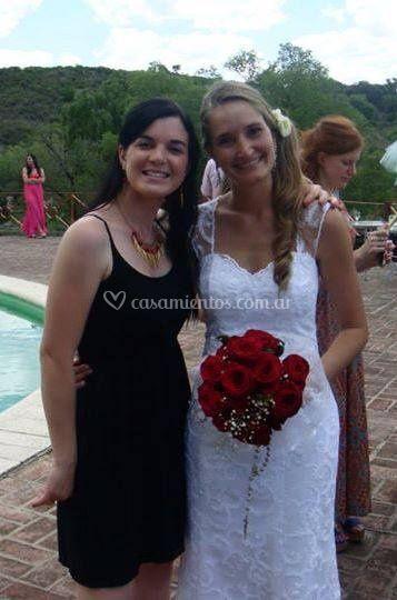 Eugenia vestido de novia