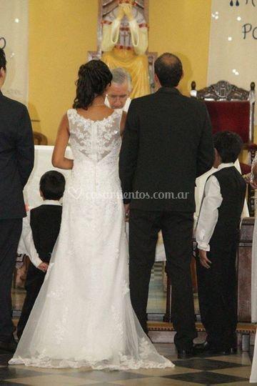 Eva  vestido de novia