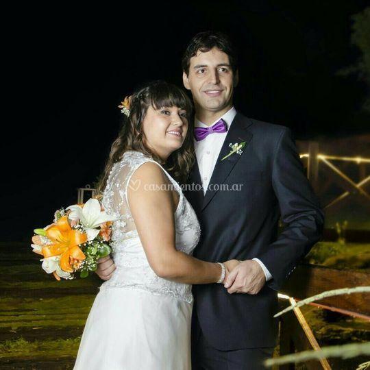 Silvina vestido de novia