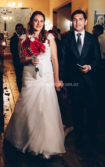 e463a8ad4 Vestido de novia para Paula de Novias de Córdoba Bridal House