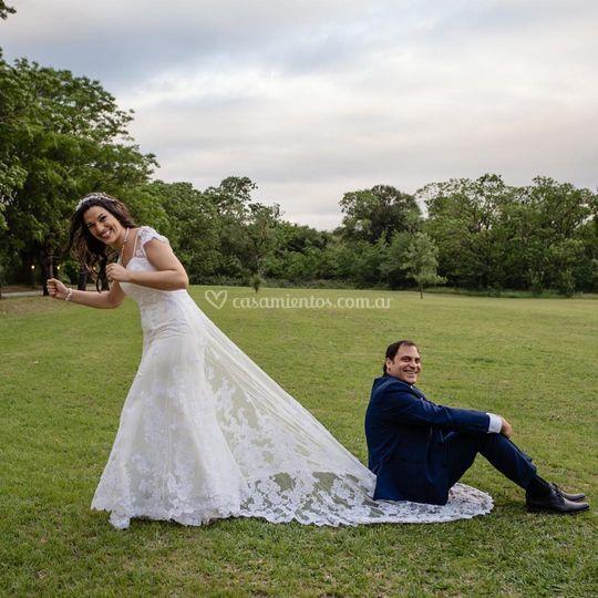 Vestido de novia para Tati