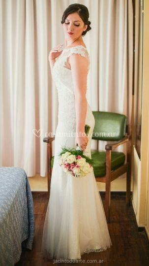 9a3c2aff0 Vestido de novia para Agustina de Novias de Córdoba Bridal House ...