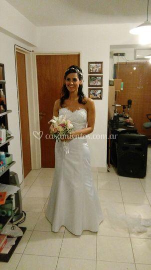 76c26cf57 Vestido de novia para Clara de Novias de Córdoba Bridal House