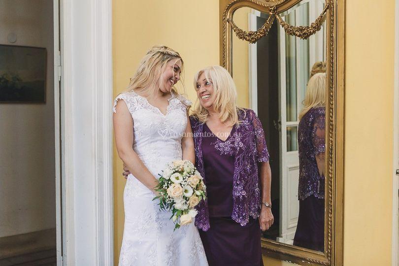 Bride - Wedding dress