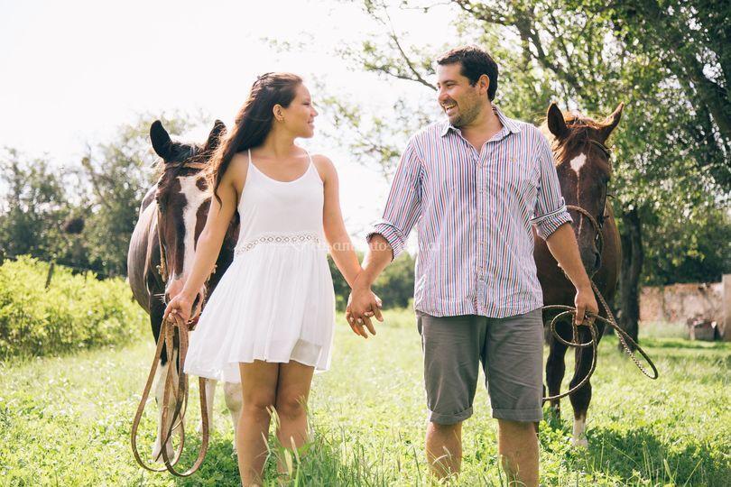 Pre boda Raul y Flavia