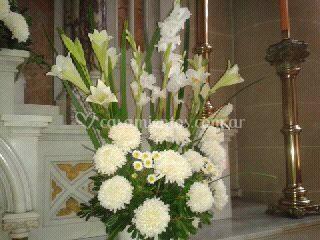 Arreglos Florales De Iglesia De Andrea K Foto 34