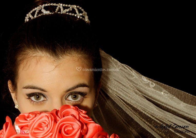 Maquillaje y peinado novia de Maquillarte Studio