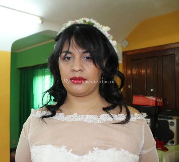 Maquillaje casamiento de día