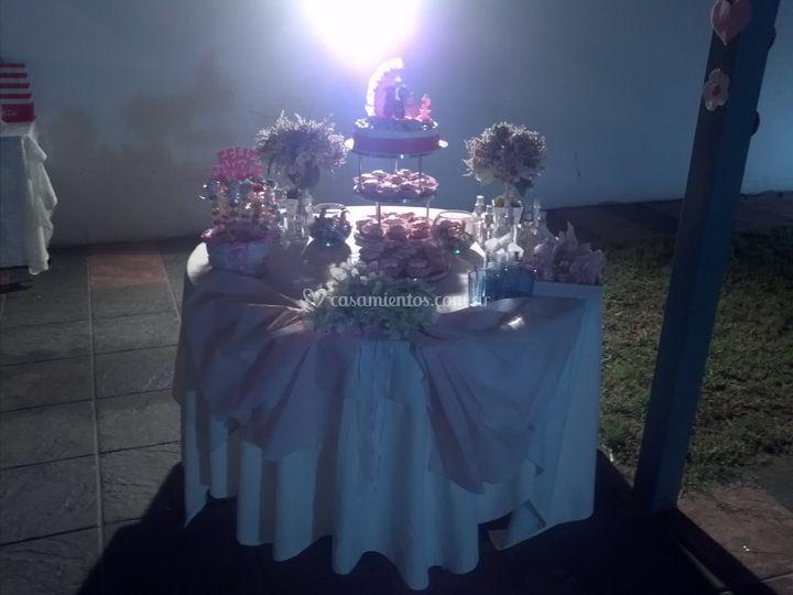 Mesa dulce bautismal