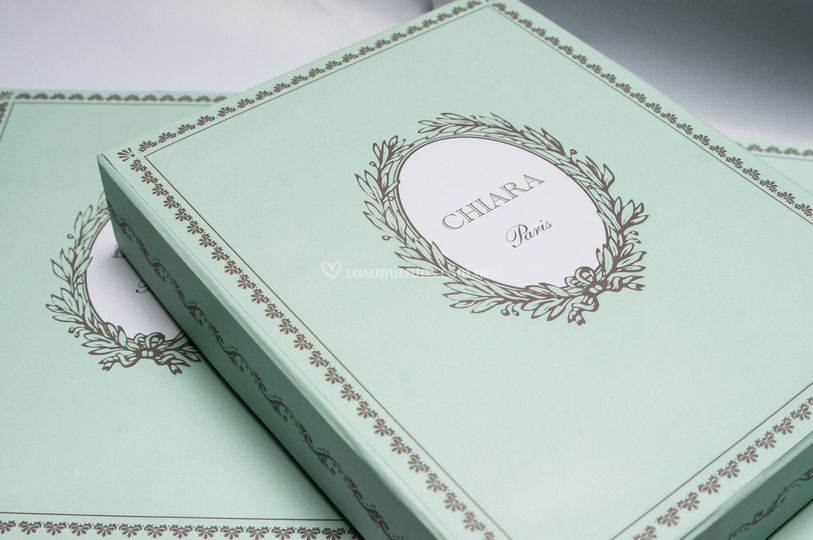 Caja c/ agenda Souvenirs