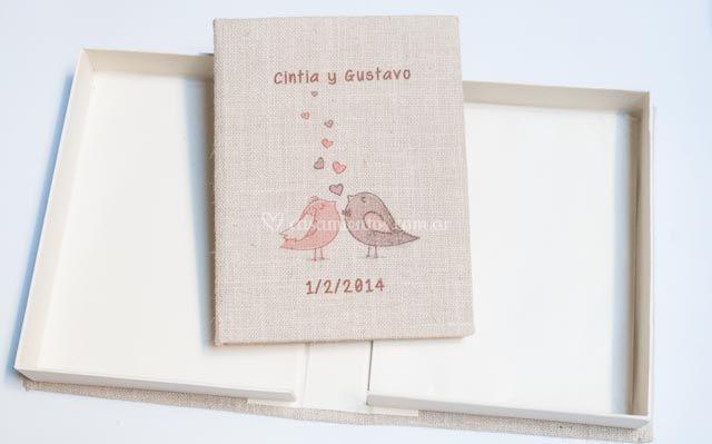 Album y caja