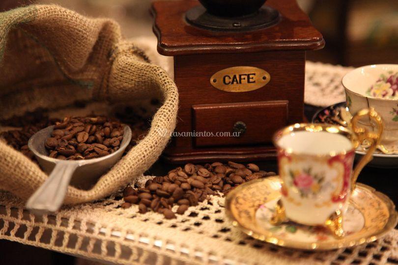 Barra de cafe