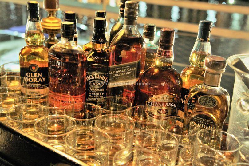 Barra de whisky