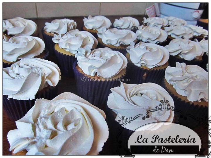 Cupcakes Rosetas