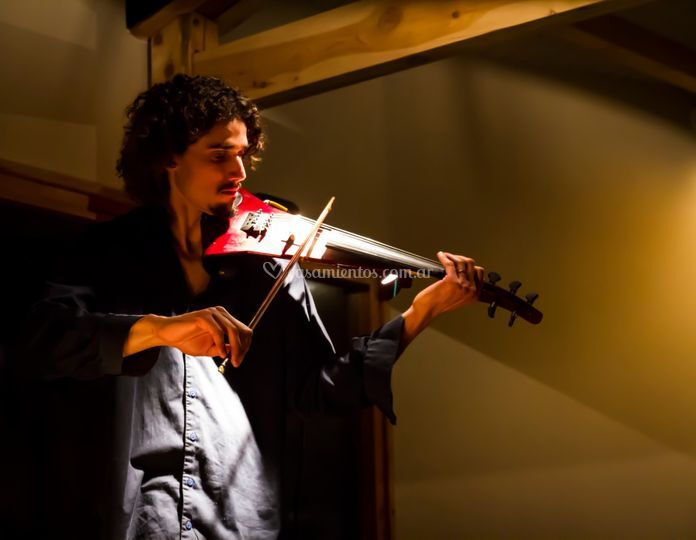 Viola y violín