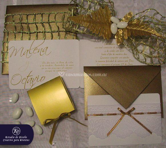 Invitaciones para casamiento