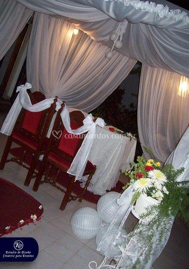 Gazebo ceremonia civil