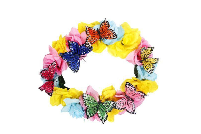 Corona mariposas