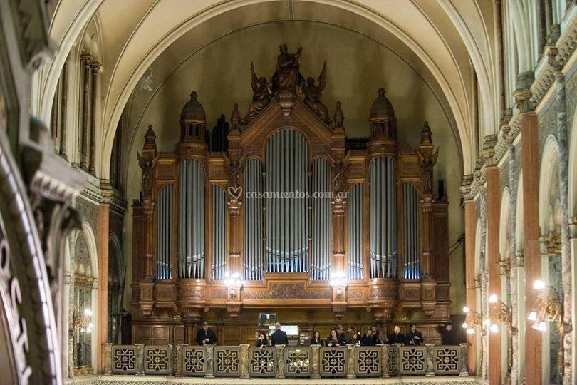 Gran coro y órgano