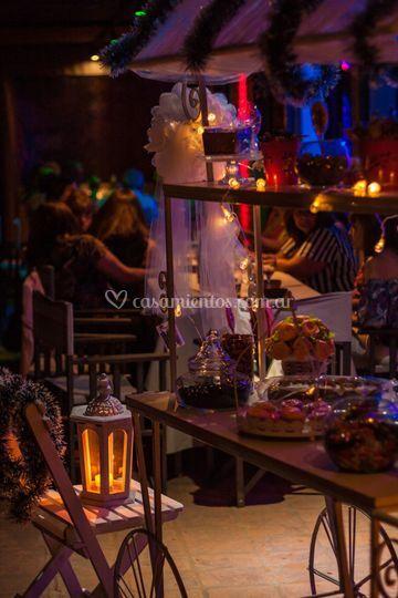 Decoración candy bar