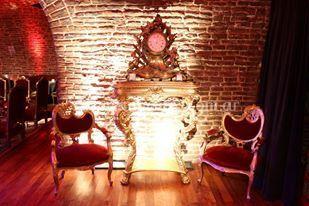 Consola y reloj barroco