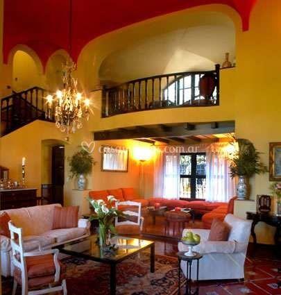 Interior de la estancia