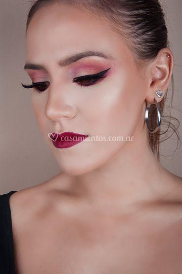 Maquillaje en colores