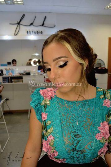Maquillaje para recepción