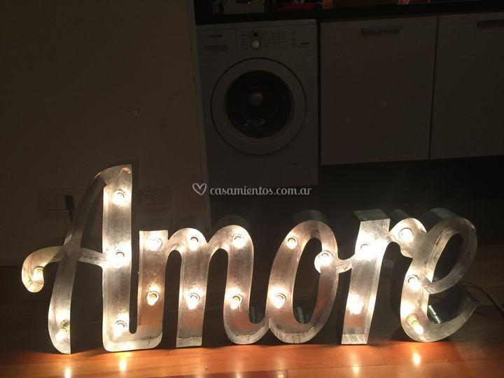 Alquiler de letras luminosas!