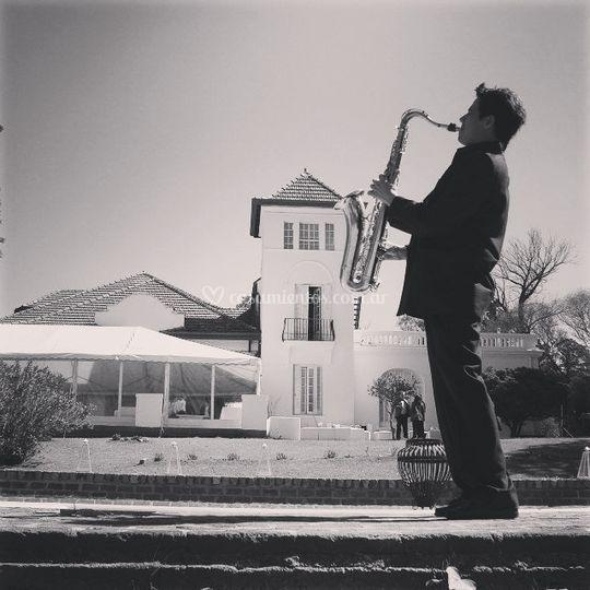 Saxofonista Dario Palomeque