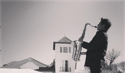 Saxofonista Dario Palomeque 1