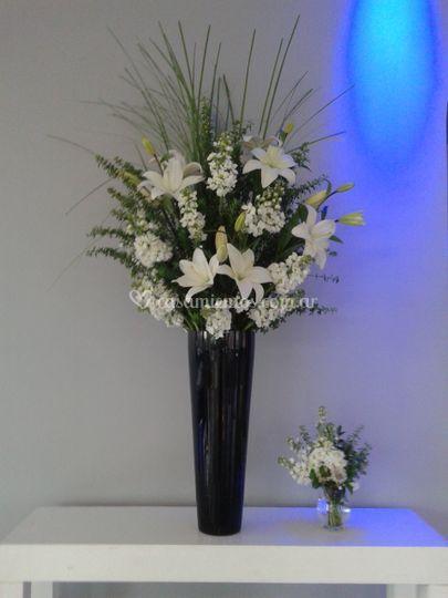 Florero liliums