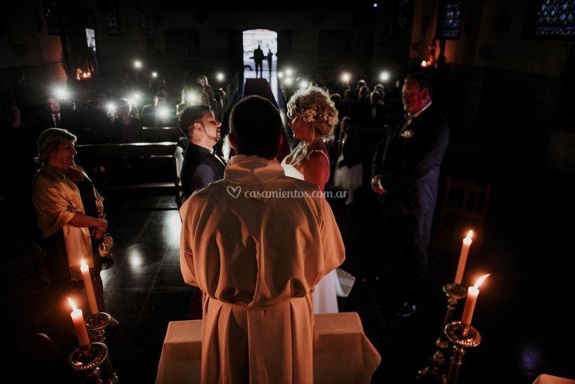 A las velas