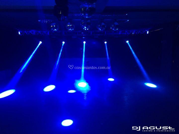 Configurando luces