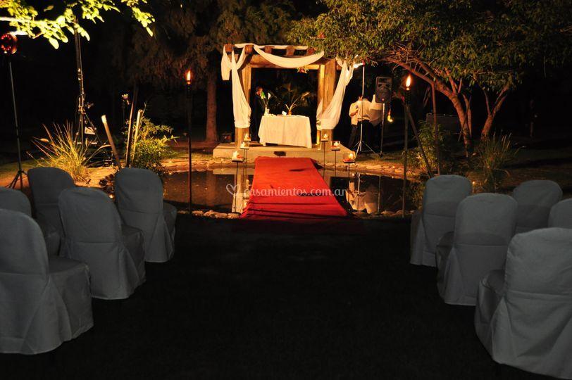 Altar para ceremonia civil