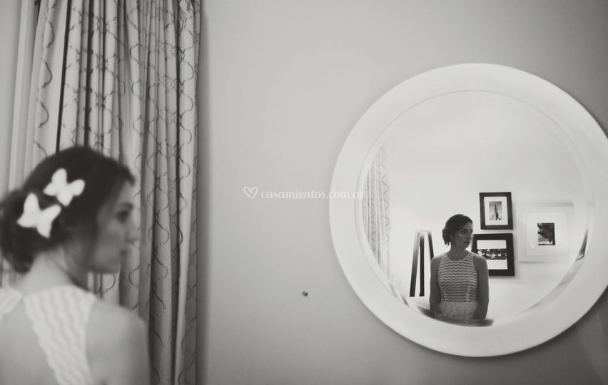 Una novia en el espejo