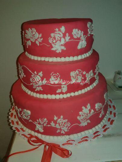 Torta para casamiento