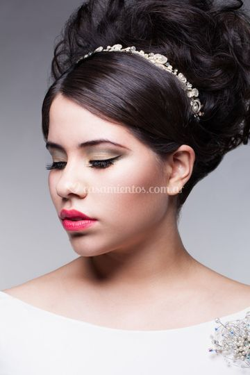 Novia de Lili Aimetta Make Up
